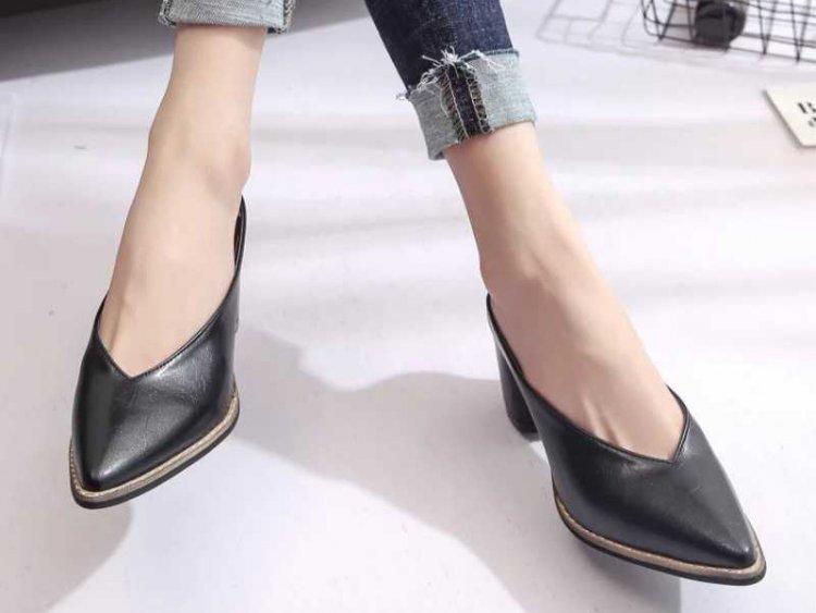 туфли с узким ноосм