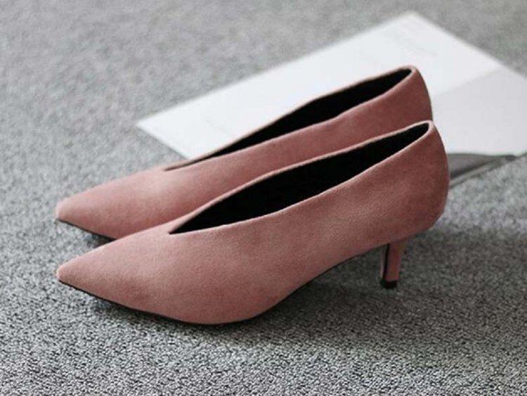 туфли с длинным носом