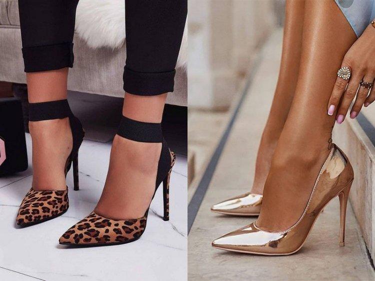туфли лодочки леопардовые