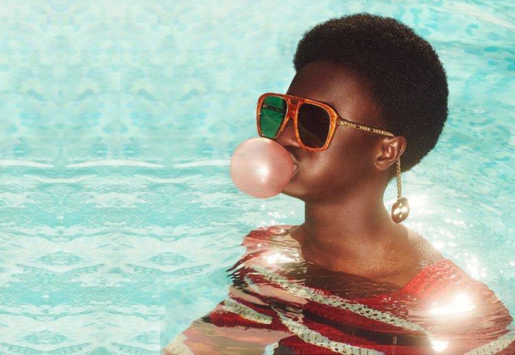 Лимитированная коллекция солнцезащитных очков от Gucci