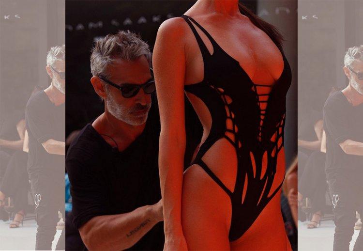 Знаменитый дизайнер Адам Сакс со своим фееричным шоу!