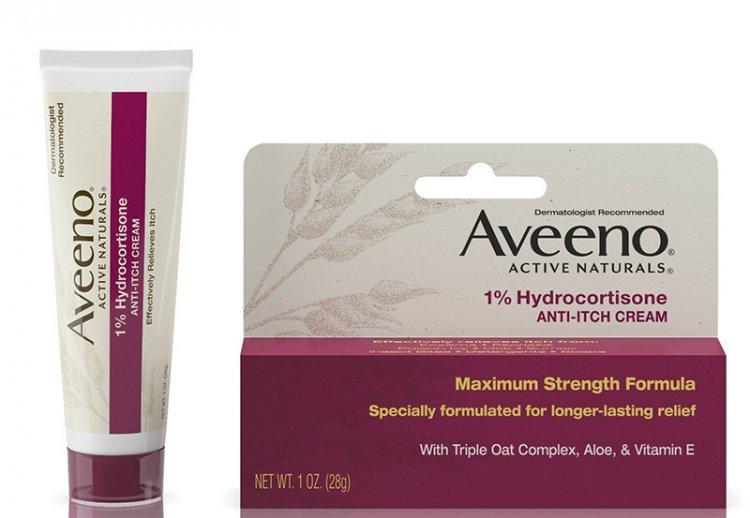 гидрокортизоновый крем против зуда Aveeno