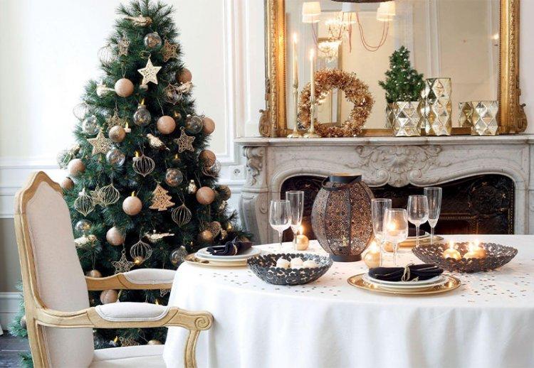 украшения для новогоднего стола
