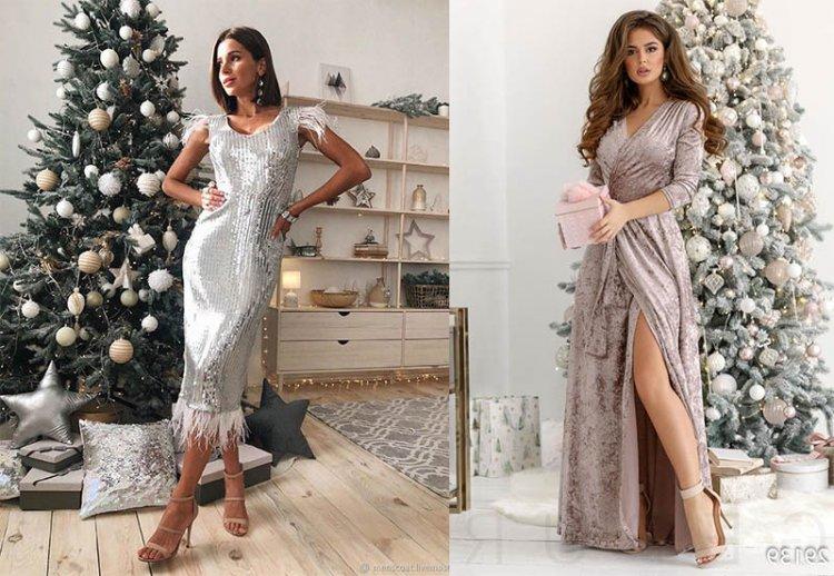 платье на новый год для близнецов