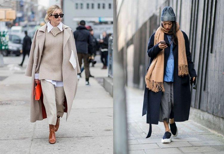 многослойность в зимней одежде