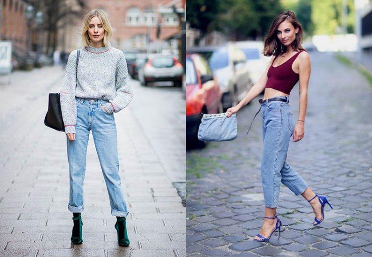 джинсы мом 2021