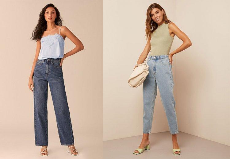 широкие джинсы 2021