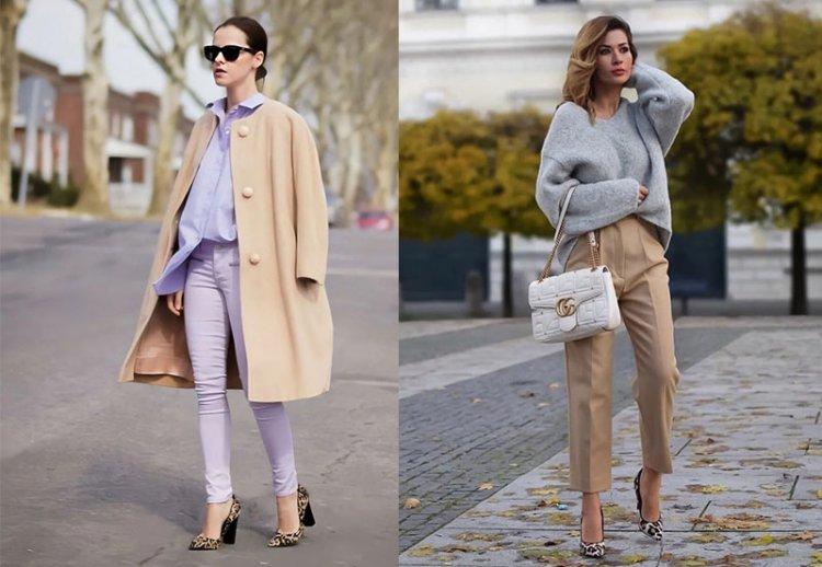 Классический бежевый цвет в одежде