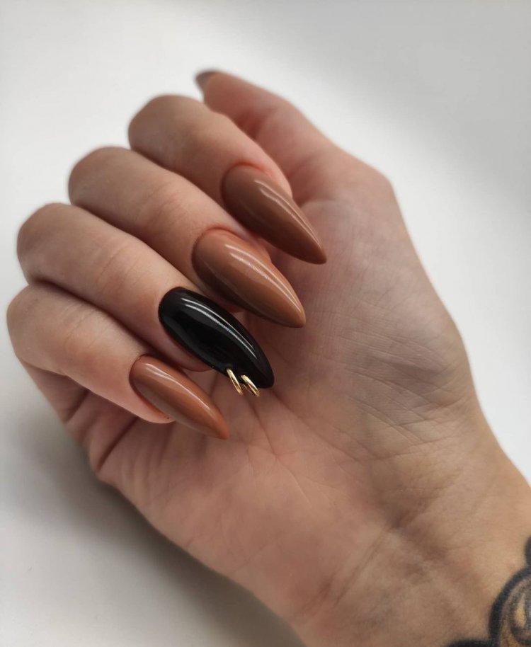 кольцо на ноготь пирсинг