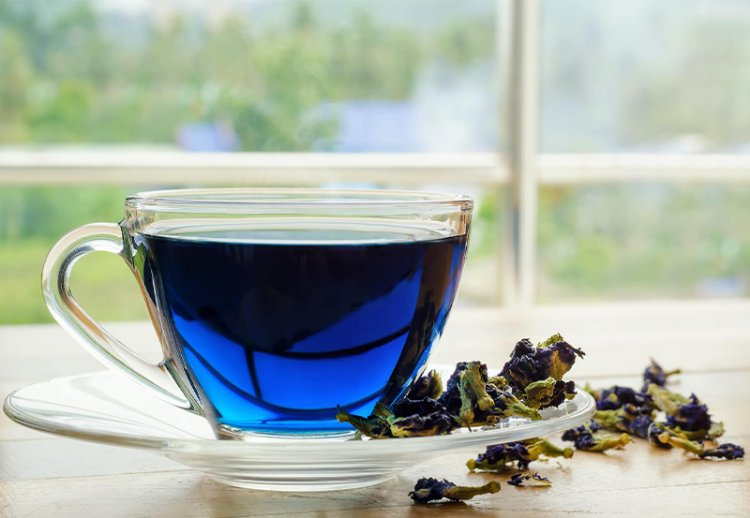 Синий чай Анчан полезные свойства и вред