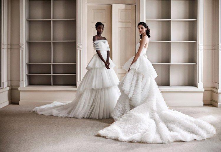 свадебные платья 2021 в стиле максимализм