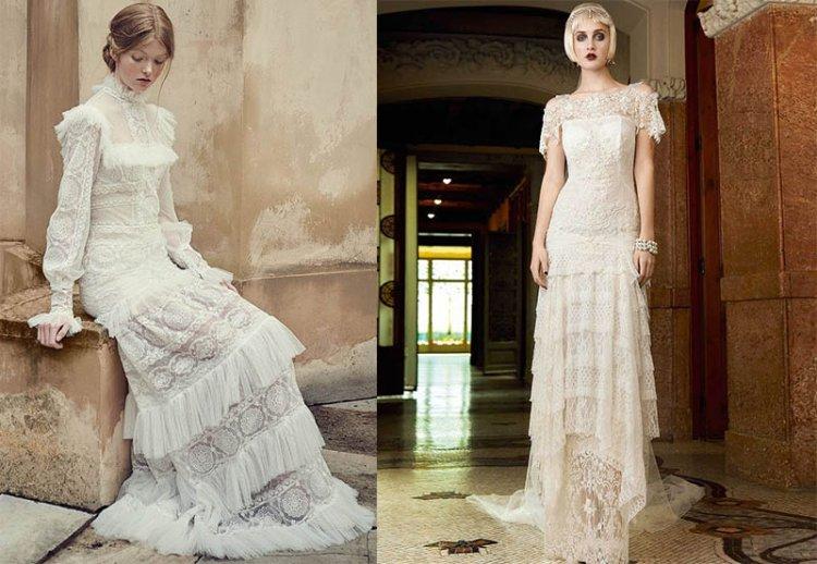 современные платья в винтажном стиле
