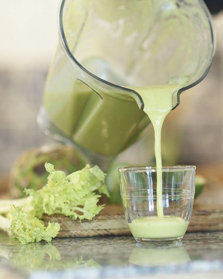 сельдереевый сок польза
