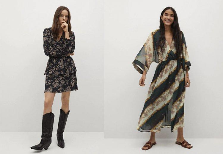 модное платье в стиле бохо 2021