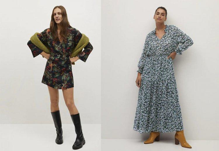 модные платья в цветочек 2021