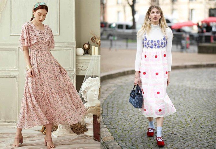 платья в ретро стиле 2021