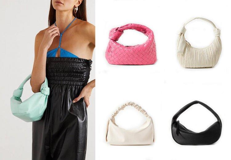 Модная мягкая сумка Хобо
