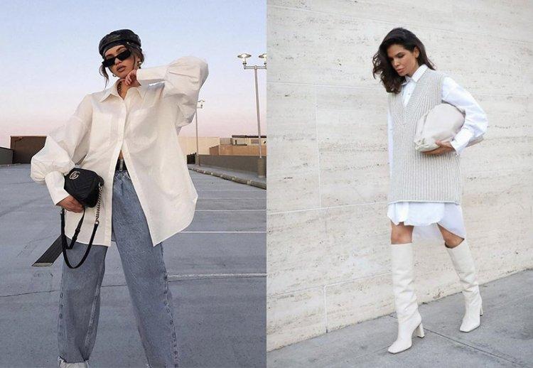 образы с белой рубашкой 2021