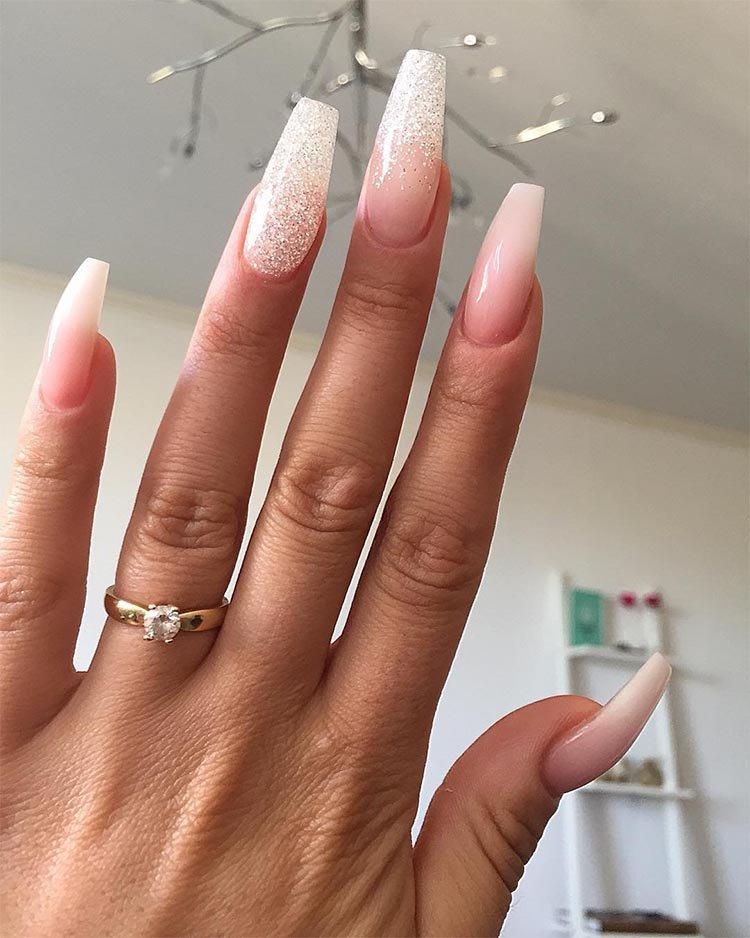 Форма ногтей «Балерина»