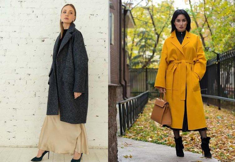 модные фасоны пальто 2021