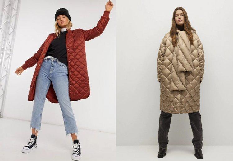 Стеганые куртки и пальто