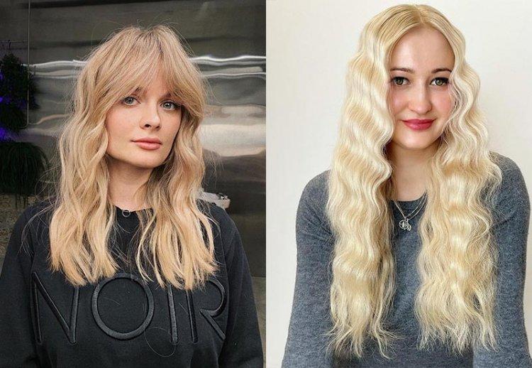 модные теплые оттенки блонда