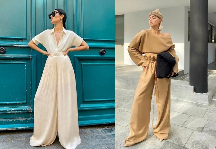 Модные брюки палаццо как носить