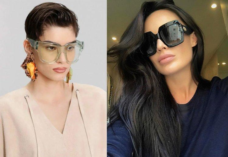 модные очки oversize