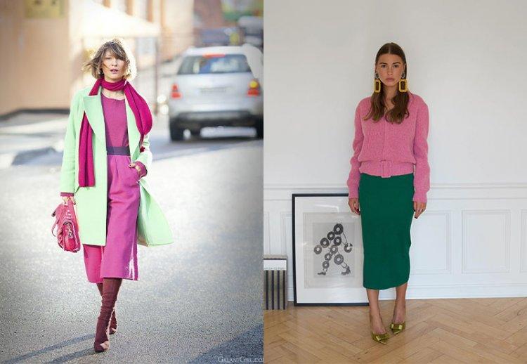 модное сочетание ветов весна-лето