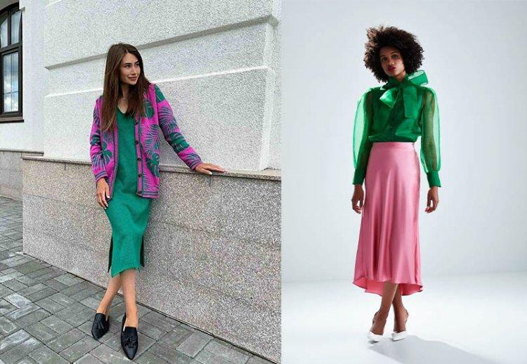 модные сочетания в одежде