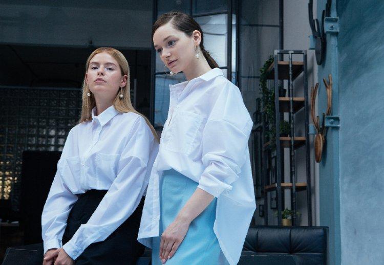 С чем носить белую рубашку оверсайз – модные идеи
