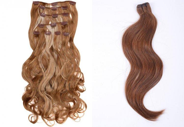 дополнительные пряди волос трессы