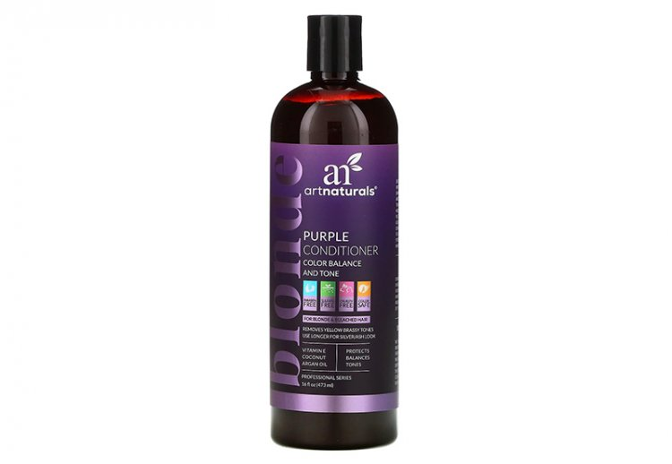 Artnaturals, кондиционер для волос Blonde Purple