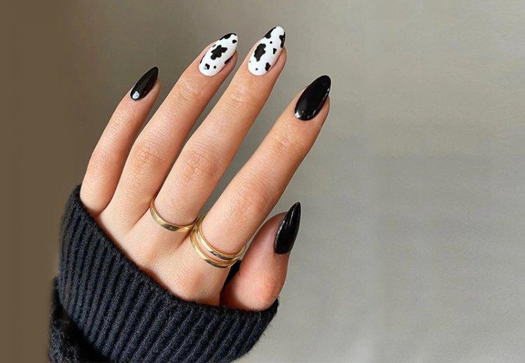 коровьи пятна на ногтях