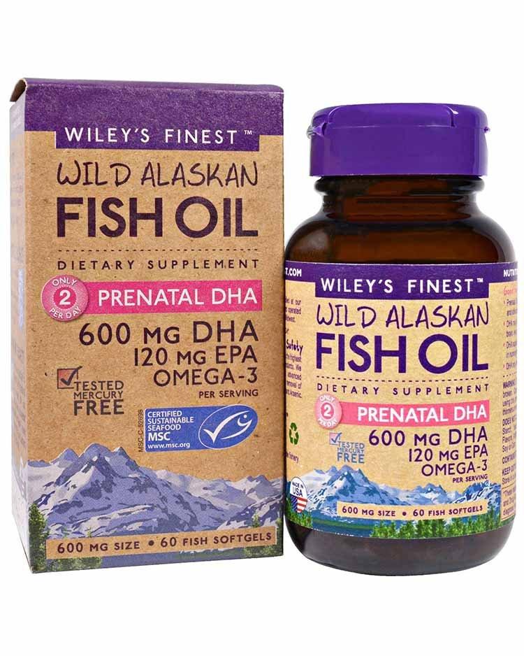 Аляскинский рыбий жир от Wiley's Finest