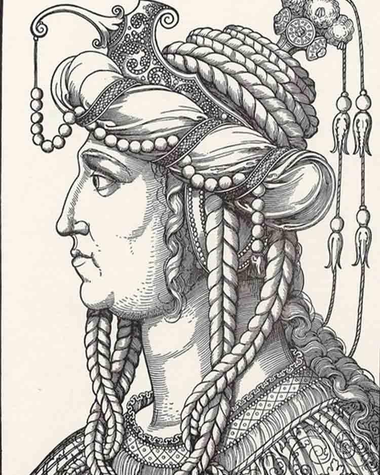 портрет Хюррем Султан