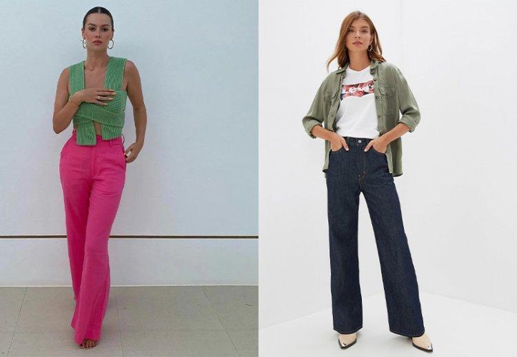 модные джинсы осени 2021