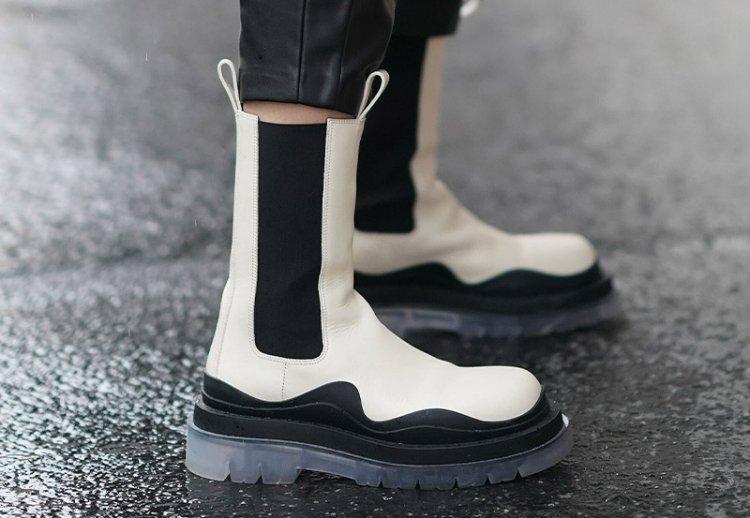 модные ботинки челси