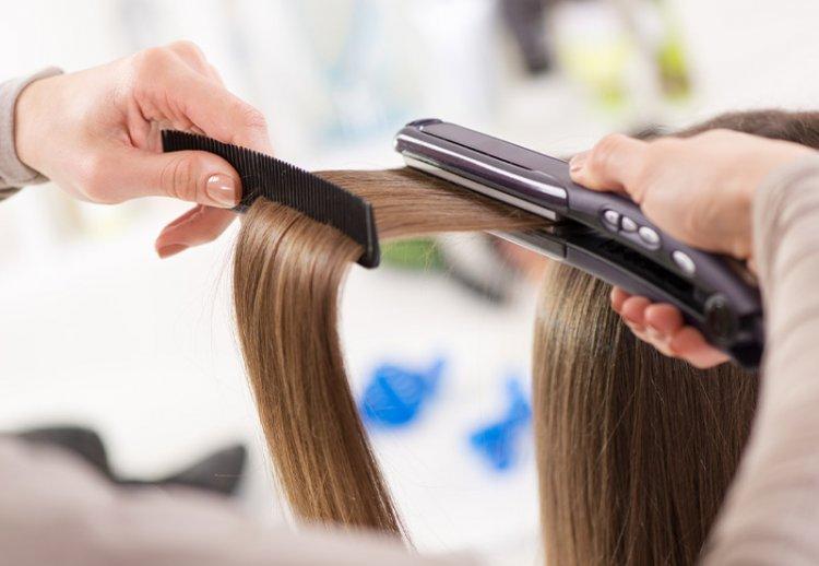 как делают кератиновое выпрямление волос