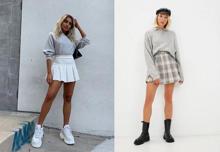 какую надеть юбку в школу