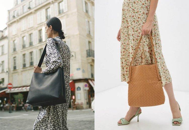 модные сумки мешки