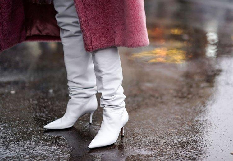 как защитить кожаную обувь от влаги