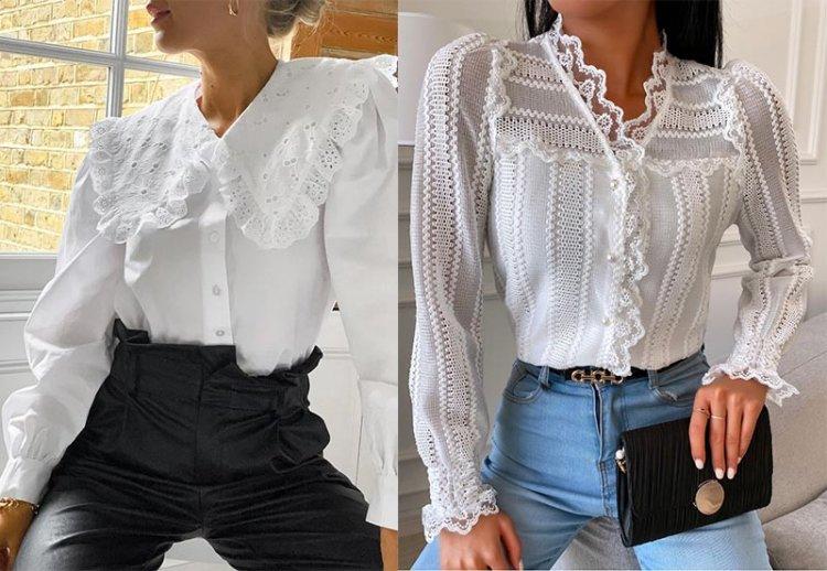 нарядные блузы в базовом гардеробе