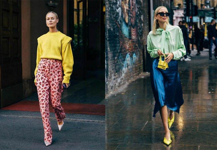 лимонный цвет в одежде как носить