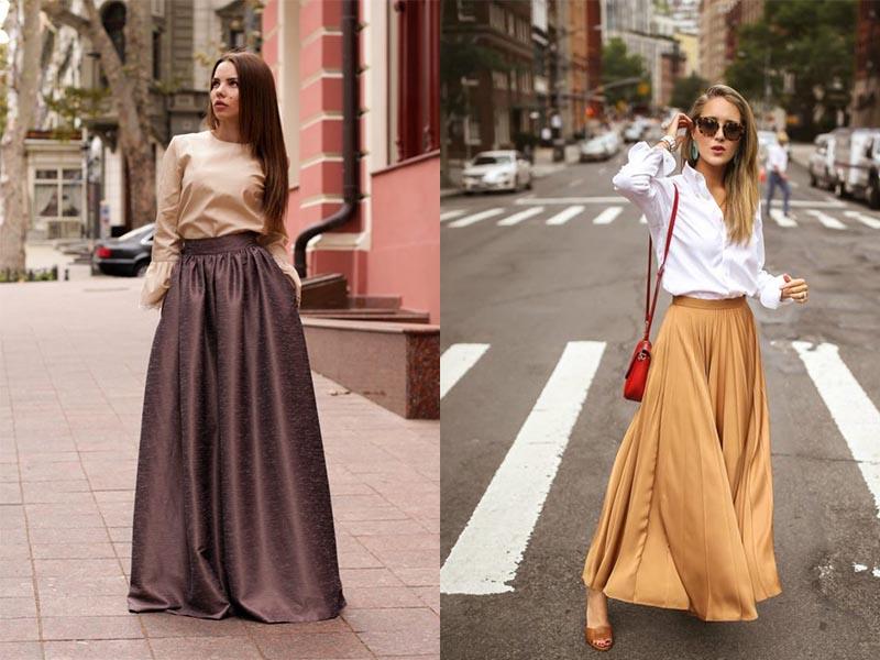 Длинные юбки 2020