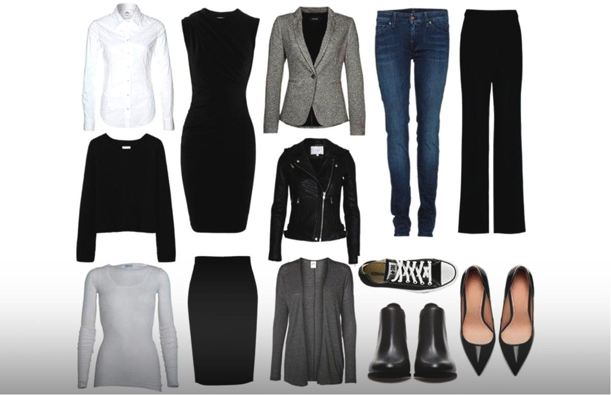 Классический базовый гардероб