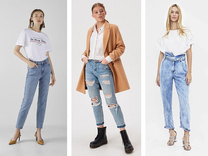 базовые модные джинсы