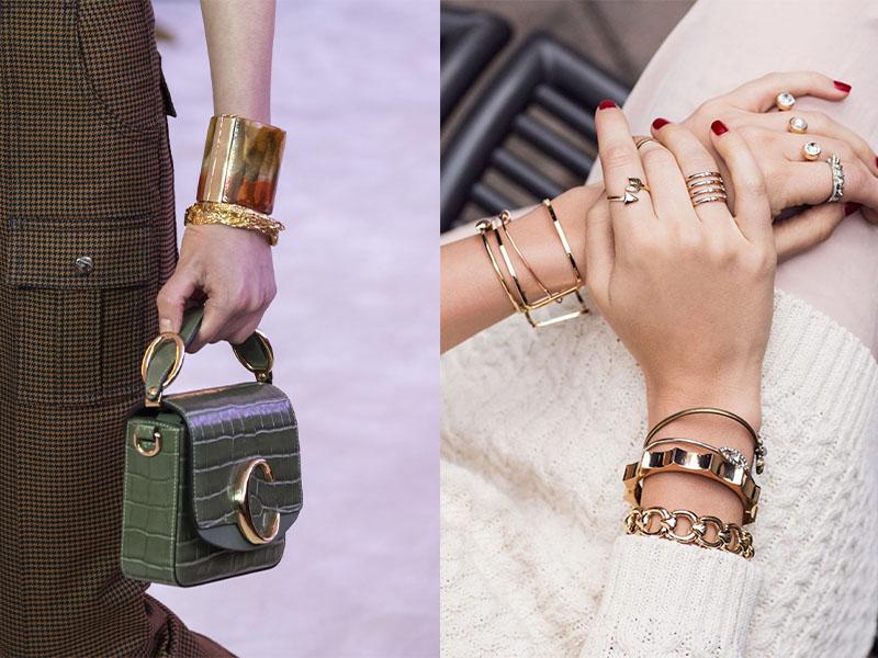 массивные браслеты на руку