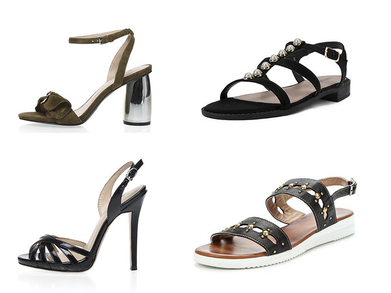 Базовые сандалии и босоножки