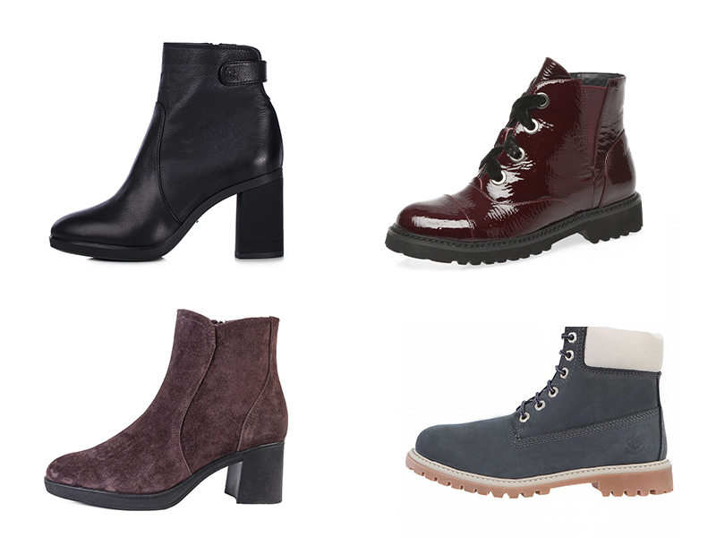 Базовые ботинки и ботильоны